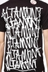 Футболка Altamont Repeated Black 2010 г инфо 6444z.